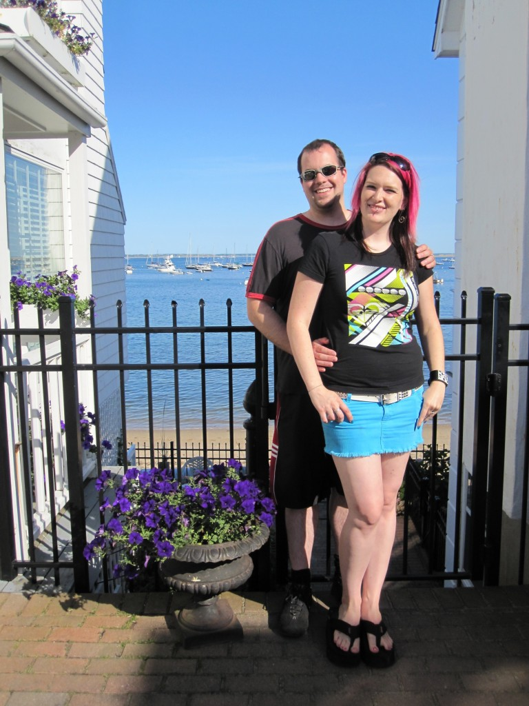 Us in Provincetown, MA