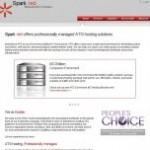 Sparkred ATG Oracle Commerce Hosting Homepage Image