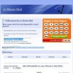 10MinuteMail Homepage Image