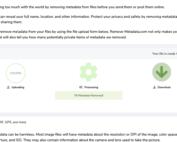 remove-metadata.com screenshot
